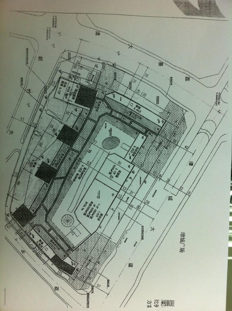 增城万达广场平面图